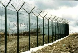 供应广东2.0x3.0米刀片蛇腹网护栏/带刺围墙网