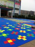 塑料悬浮地板 悬浮式拼装地板