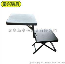 草綠一體多功能折疊桌椅 多功能寫字桌椅 多功能折疊桌學習桌