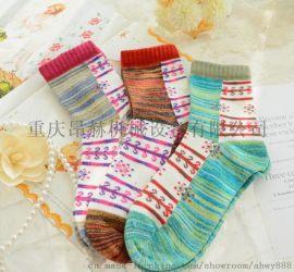 朵啦袜业加工设备亮眼又时尚