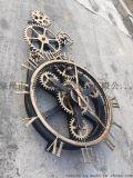 金属艺术时钟 工艺钟表订制 摆件工艺品