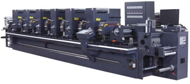 轮转印刷机_间歇式凸版轮转商标印刷机
