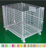 自动仓储货架用 家具板材折叠式仓储笼 卫浴瓷器折叠箱