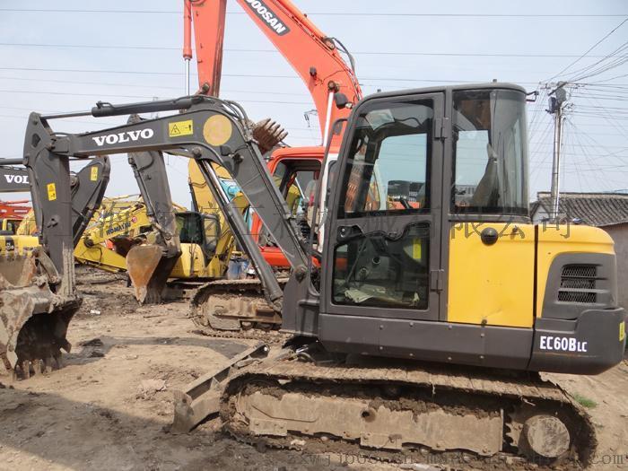 沃尔沃挖机 二手沃尔沃挖掘机 沃尔沃60挖机 二手沃尔沃60挖掘机价格