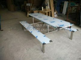 食堂不鏽鋼餐桌椅-飯堂不鏽鋼餐桌椅-不鏽鋼食堂餐桌椅圖片