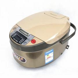 廠家批發智慧家電 多功能家用電飯煲 5升預約電飯鍋 會銷禮品