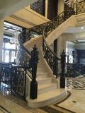 酒店鋼結構樓梯欄杆定制 室內樓梯鐵欄杆 樓梯欄杆