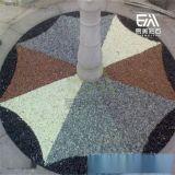 易美彩色透水混凝土材料厂家直销