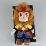 齐天大圣孙悟空猴子毛绒公仔 西游记动漫卡通工艺毛绒玩具定制