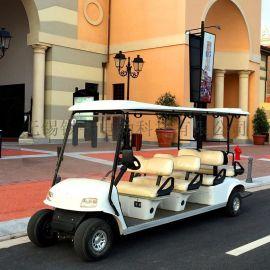 南通8座高尔夫球车,楼盘接待车