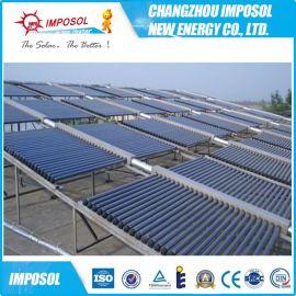 50管工程聯箱太陽能熱泵水箱,優質太陽能供熱系統太陽能工程集熱器