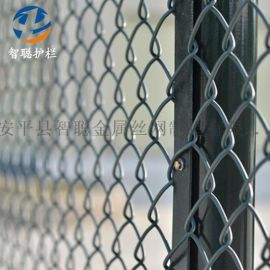 组装球场防护网绿色防锈篮球场围网