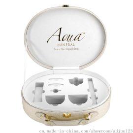 立葳化妆品皮盒包装盒定制