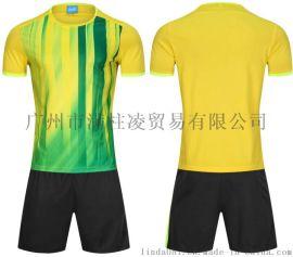 运动套装夏季男速干短袖圆领跑步服休闲宽松足球羽毛球训练服装3352