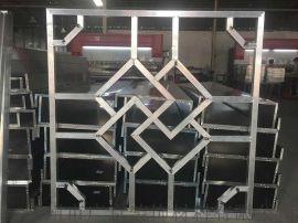鋁方管焊接仿古格柵窗花-隔斷德普龍專業窗花廠家