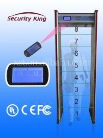 欣賽通 xst-F08 8區位 防水防火 金屬探測安檢門