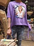 娜依 18夏装潮款T恤休闲少女品牌服装走份批发
