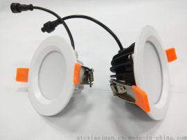 热销ip65防水筒灯外壳防火筒灯套件天花灯外壳