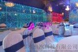 婚庆酒店大堂水舞气泡墙、水景水舞墙体、炫舞亚克力泡泡屏风