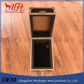银色 铝制 精美红酒箱 单只装铝箱