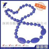 硅胶圆珠项链时尚女士服装饰品项链 珠子项链