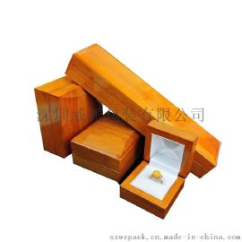 高光喷漆木制MDF实木珠宝首饰礼品包装盒