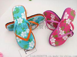 夏季2017女士時尚簡約沙灘人字拖防滑外穿夾腳拖鞋學生涼室內拖鞋