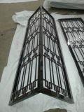 黑钛不锈钢花格隔断屏风,镂空雕花装饰性屏风隔断