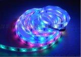 专业灯条厂家12V白板5050rgb灯带60灯七彩软灯条质保二年