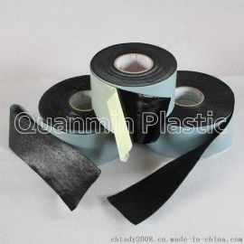 全民塑胶 迈强牌1.20mm 聚丙烯网状增强编织纤维防腐胶带厂家