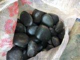 3-5公分黑色天然鹅卵石价格 保定天然鹅卵石厂家