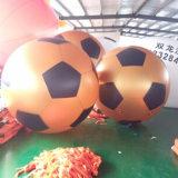 充气空飘球PVC足球广告制品节庆用品飘空球