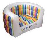 PVC植绒充气凳子 广告充气凳  户外椅