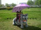 兒童廣場雙人電動遊樂車