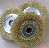 制刷基地厂家直销高效磨料丝,钢丝抛光轮,毛刷轮,欢迎咨询