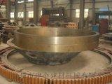 外径2450铸钢材质JK2.2米烘干机滚圈