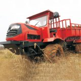 新型盘式拖拉机万向折腰式四驱运输拖拉机