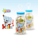 香港佳澜食品出品星星旺Q味多罐装零食果汁软糖
