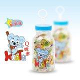 香港佳瀾食品出品星星旺Q味多罐裝零食果汁軟糖