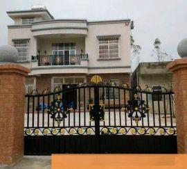 铝艺别墅大门-铝艺庭院大门-铝合金门