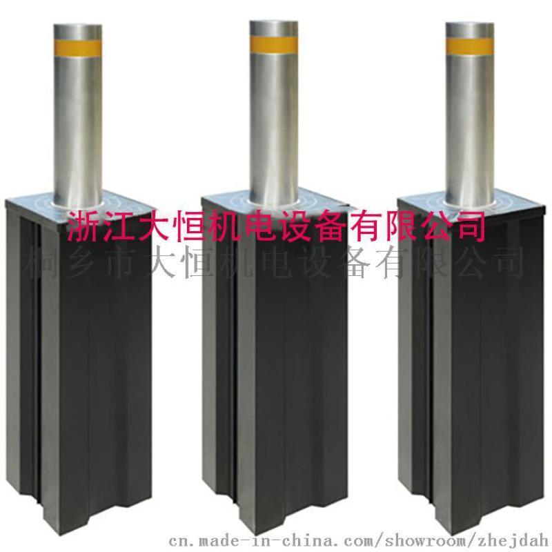半自动升降柱 液压升降柱 不锈钢伸缩路障厂家直销