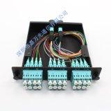 MPO Cassette配线盒MPO-LC跳线 24芯MPO配线盒 MTP配线盒定制