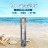 厦门蒂涌水泵6SP-3002不锈钢清水泵