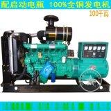 100kw潍柴发电机组,全铜发电机(潍坊配互泰有刷发电机)