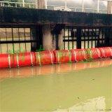 井冈山水电站漂浮物拦截挂网式浮筒厂家