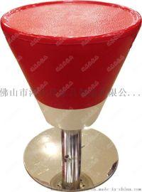 玻璃钢吧凳,餐厅玻璃钢吧凳广东鸿美佳厂家订制