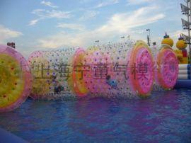 水上乐园充气滚筒球步行球厂家直销