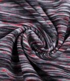 妙翔紡織新品研發段染布,批發緞染面料,七彩布,彩條布,滌氨緞染,陽離子,汗布