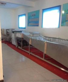 全自动食堂不锈钢餐具餐盘清洗消毒设备