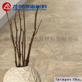 定制防火防水地板 酒店商場家庭使用國外進口地板 塑膠地板